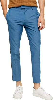 Topman Peardrop Crop Skinny Fit Pants