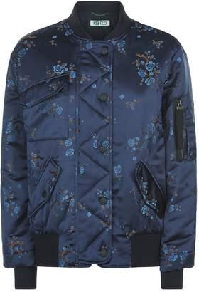 Kenzo Jacquard Floral Bomber Jacket