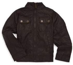 Urban Republic Little Boy's Faux Leather Pocket Jacket