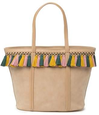 Shiraleah Tatum Tassel Tote Bag