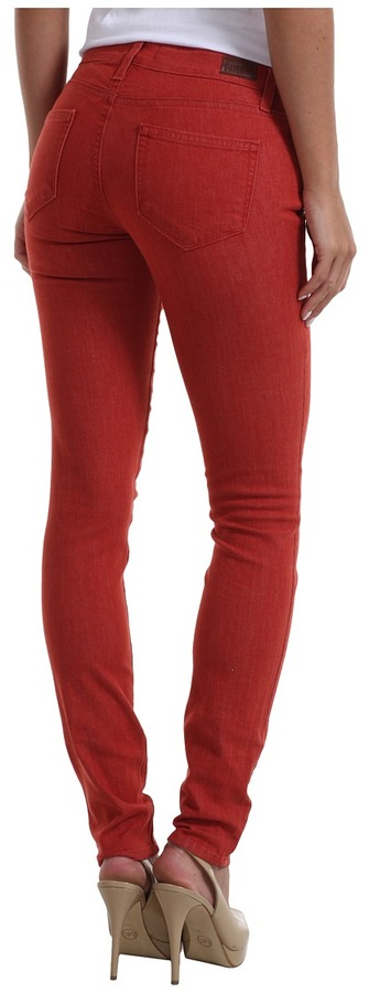 Paige Verdugo Ultra Skinny in Vintage Red (Vintage Red) - Apparel