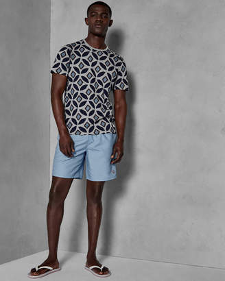 Ted Baker DOREE Geo printed swim shorts