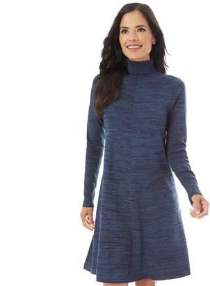 2a2043f4 Apt. 9 Women's Turtleneck Swing Dress