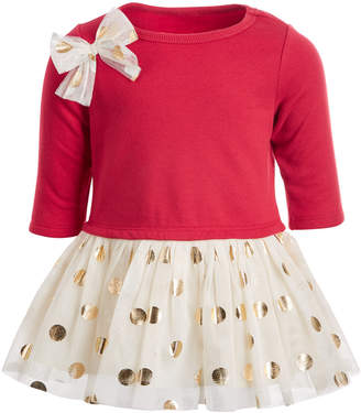 First Impressions Baby Girls Polka Dot Tutu Dress