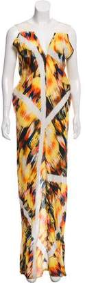Zero Maria Cornejo Printed Maxi Dress