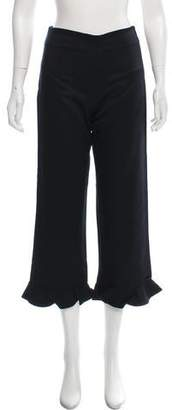 Opening Ceremony High-Rise Ruffle Trim Pants