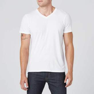 DSTLD V-Neck Tee in White