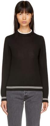 Etoile Isabel Marant Black Dessie Crepe Sweater