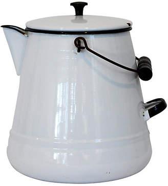 One Kings Lane Vintage Enamel Coffeepot