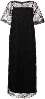Y's lace evening dress
