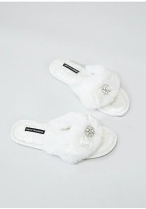 8cb5c55aab5 Cream Embellished Shoes - ShopStyle UK