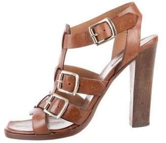 Alaia Gladiator Buckle Sandals