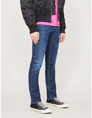 Acne Studios Max faded regular-fit straight jeans