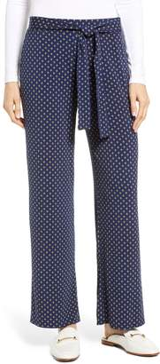 Chaus Stamp Tiled Tie Waist Pants