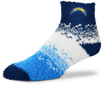 For Bare Feet Los Angeles Chargers Marquee Sleep Soft Socks