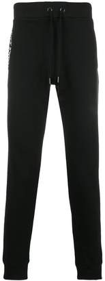 Versace patch embellished track pants