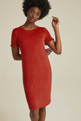 Long Tall Sally Frill Sleeve Mini Jersey Dress