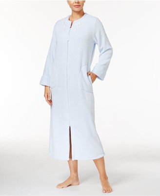 Miss Elaine Honeycomb Embroidered Gripper Robe $72 thestylecure.com