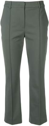 Sportmax slim fit cropped trousers