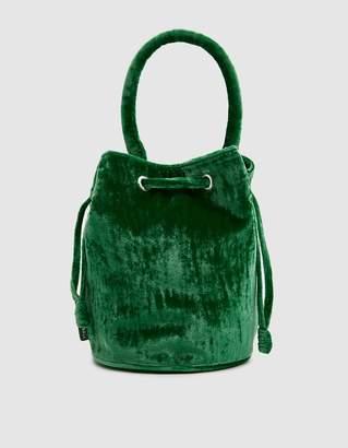 Loeffler Randall Jasmyn Bucket Bag in Emerald