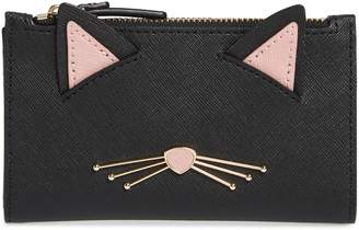 Kate Spade Cats Meow Mikey Leather Wallet