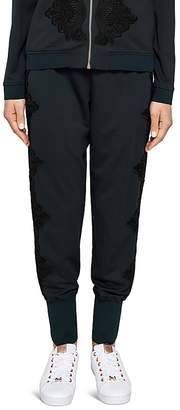 Ted Baker Ted Says Relax Lizeeba Lace-Detail Jogger Pants