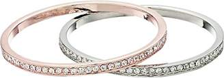 GUESS Duo Crystal Bangle Bracelet