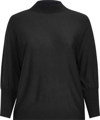 Ralph Lauren Dolman-Sleeve Modal Sweater