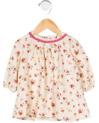 Ralph Lauren Girls' Floral Print Dress