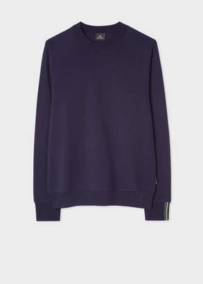 Paul Smith Men's Navy Cotton Raglan Sweatshirt