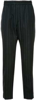 Juun.J striped tapered trousers