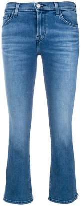 J Brand bootcut cropped jeans