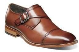 Stacy Adams Desmond Single Cap Toe Monk Shoe