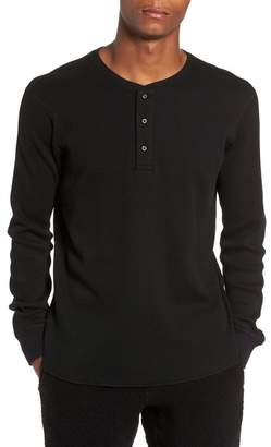 WINGS AND HORNS Long Sleeve Thermal Henley