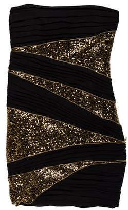 Robert Rodriguez Sequined Mini Dress
