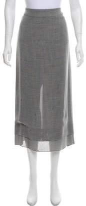 Chanel Woven Midi Skirt
