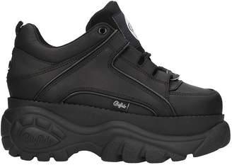 Buffalo David Bitton Low Black Classic Platform Sneakers