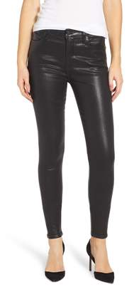 Citizens of Humanity Sculpt - Rocket Coated High Waist Skinny Jeans