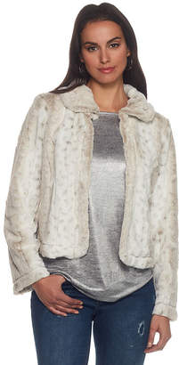 SKYE'S THE LIMIT Skyes The Limit St. Moritz Faux Fur Jacket- Plus