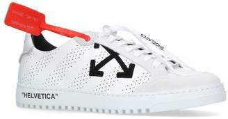 Off-White Leather 2.0 Low Top Sneakers