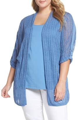 Nic+Zoe Sheer Nights Cardigan
