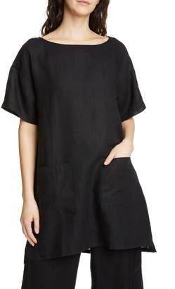 944e767c Eileen Fisher Organic Linen Tunic