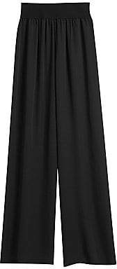 Theory Women's Silk Wide-Leg Trousers