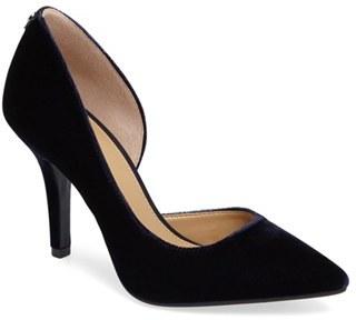 MICHAEL Michael Kors 'Nathalie Flex' Half D'Orsay Pump (Women) $98.95 thestylecure.com