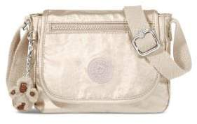 Kipling Sabian Metallic Mini Crossbody Bag