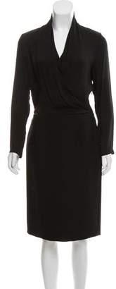 Maison Margiela Wool Midi Dress