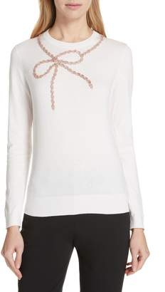 Ted Baker Nardea Sparkle Bow Sweater