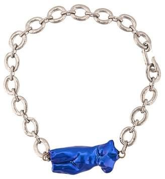 Marni body sculpture necklace