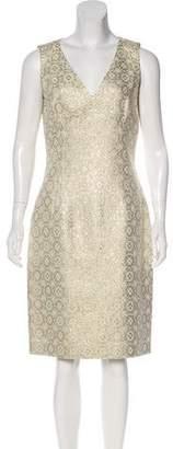 Michael Kors Metallic Patterned Dress