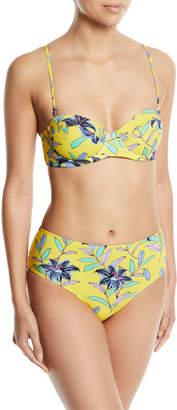 Diane von Furstenberg Floral-Print Hipster Swim Bikini Bottoms